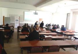 """Presentation of Report and singing of MoU between EYE and University of """"Haxhi Zeka"""""""