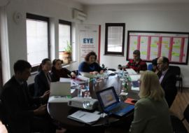 EYE Presents Career Guidance Assessment Report in Kosovo