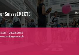 MIK Agency will take part at biggest digital marketing event in Switzerland, SuisseEMEX 15