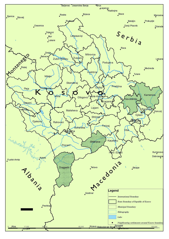 Index Of Srewpcontentuploads - Kosovo map hd pdf