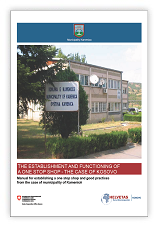 Manual for establishing a one stop shop and good practices from the case of municipality of Kamenicë