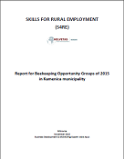 Report for  Beekeeping Opportunity Groups of 2015 in  Kamenica final LH