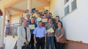 Certification Award Ceremony-LG for Central Heating and Electrical Installation